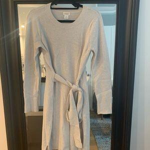 Gray Sweater Dress from Club Monaco / Size M